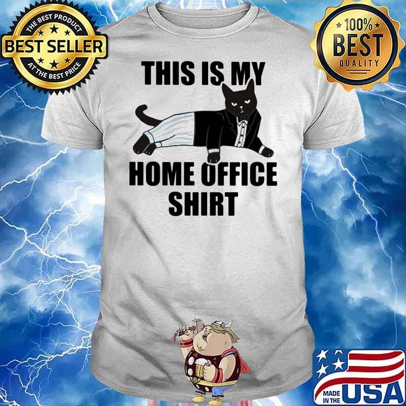 This Is My Home Office Cat Shirt
