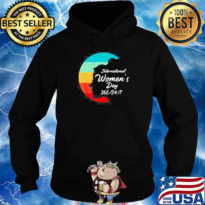 Vintage International Womens Day 8th March 2021 s Hoodie