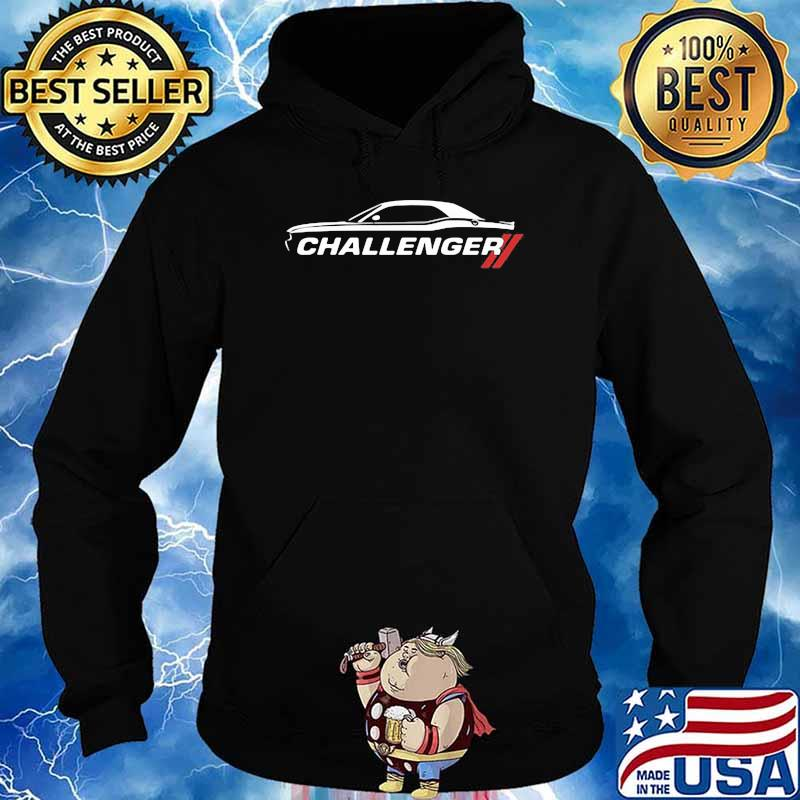 Dodge Challenger Car Shirt Hoodie