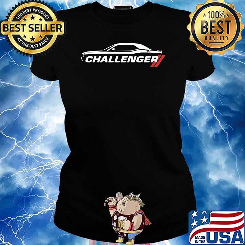 Dodge Challenger Car Shirt Ladies tee