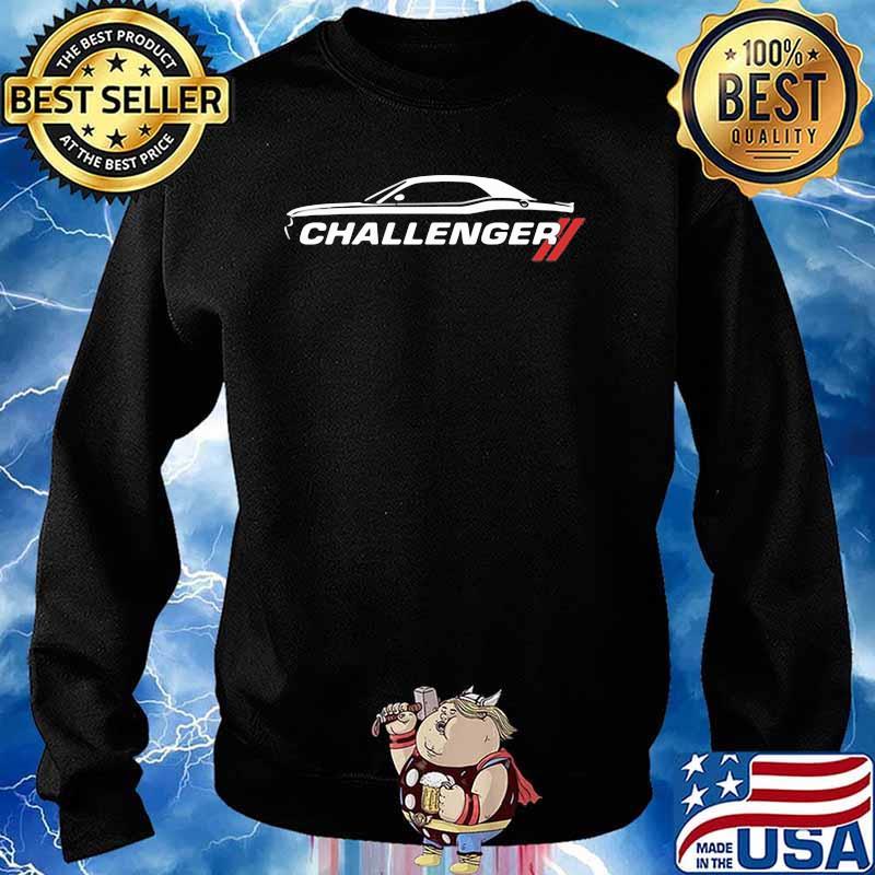 Dodge Challenger Car Shirt Sweater