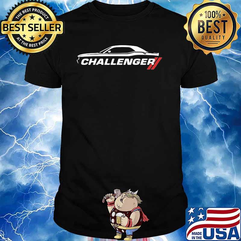 Dodge Challenger Car Shirt
