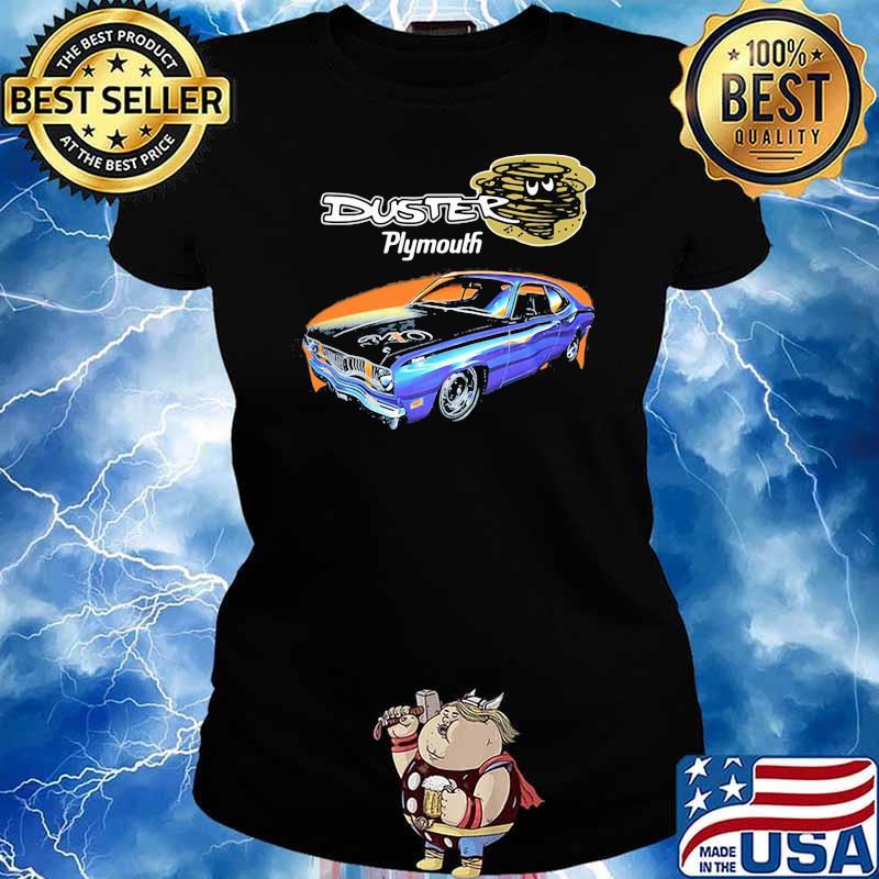 Duster Plymouth Car Shirt Ladies tee