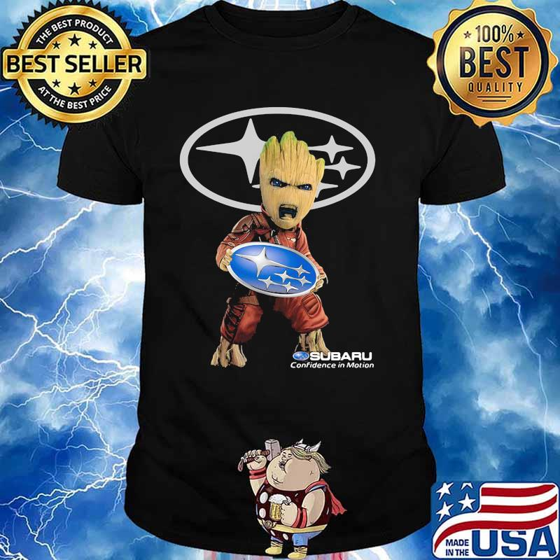 Groot Holding Subaru Confidence In Motion Logo Shirt