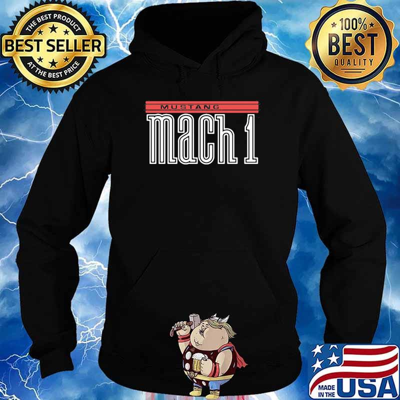 Mustang Mach 1 Shirt Hoodie