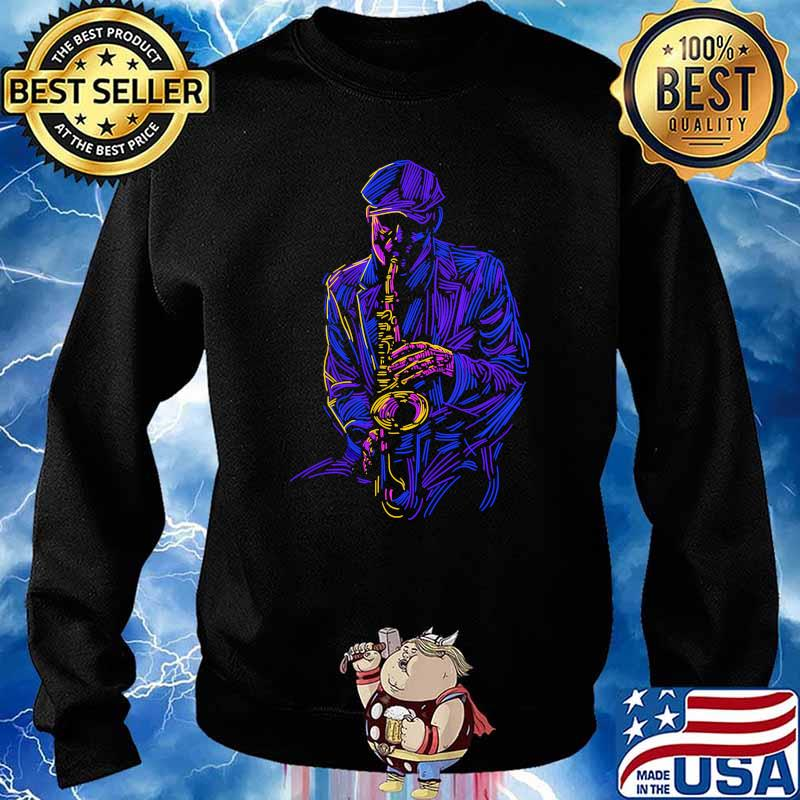 Official Saxophone Sweater