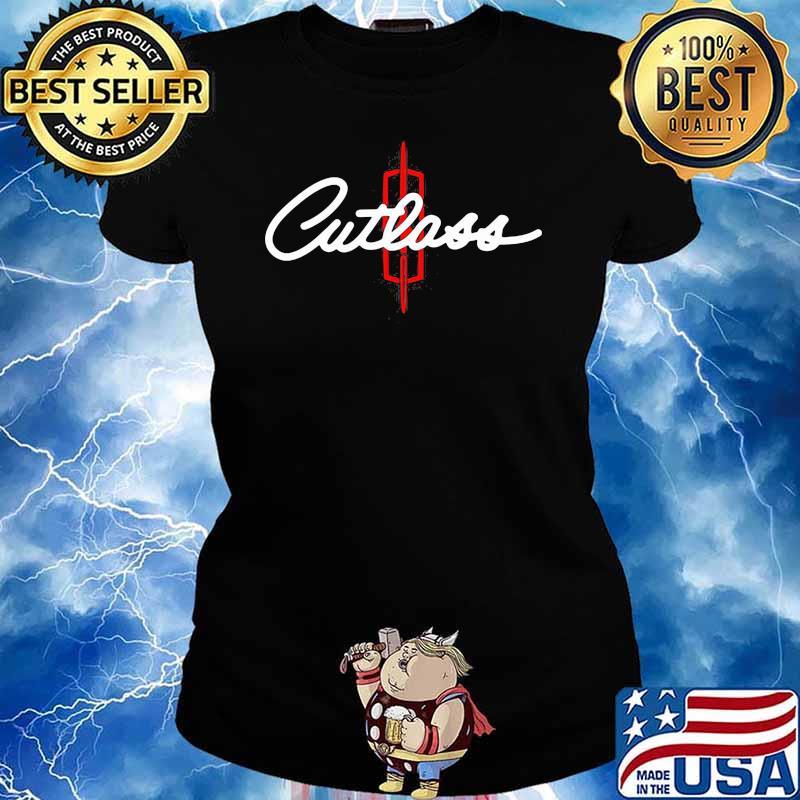 Oldsmobile Cutlass Logo Car Shirt Ladies tee