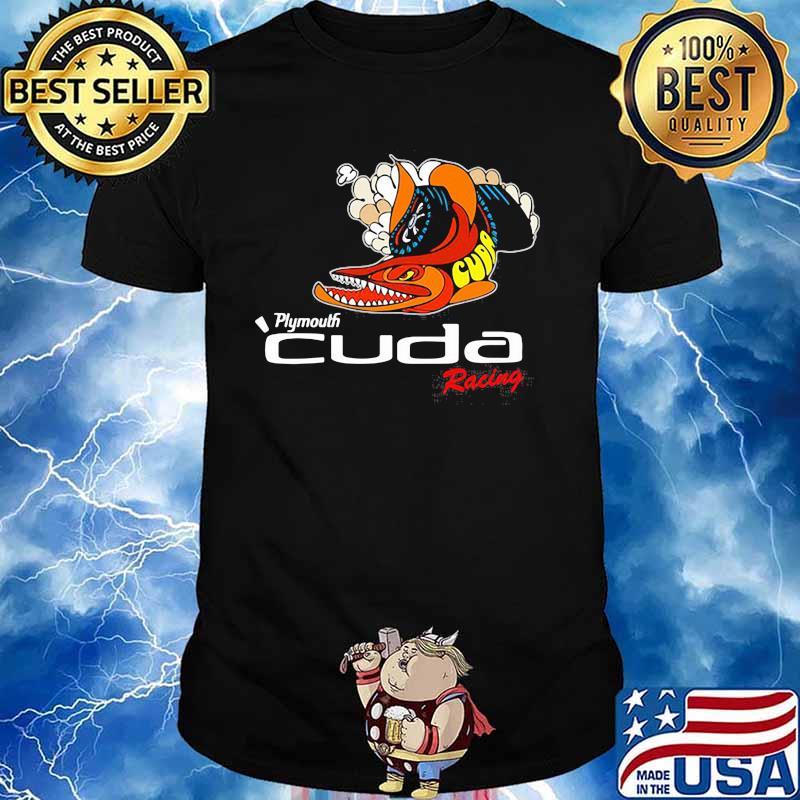 Plymouth Cuda Racing Logo Shirt