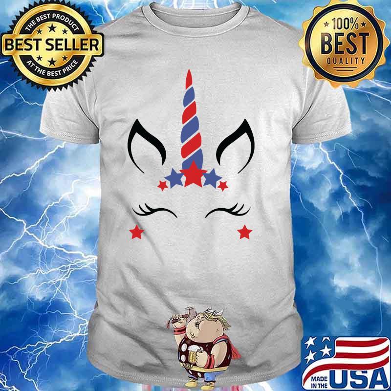 Unicorn Fourth Of July Shirt