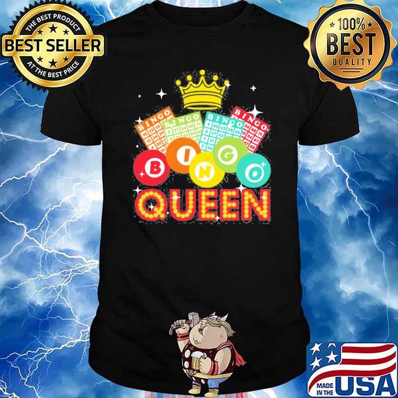 Bingo Queen Lovers Shirt