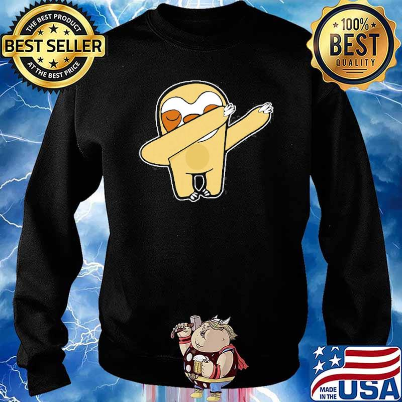 Dabbing Sloth Lover Animal Shirt Sweater