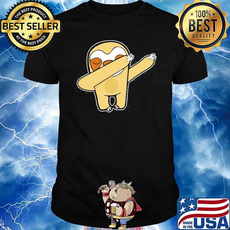 Dabbing Sloth Lover Animal Shirt