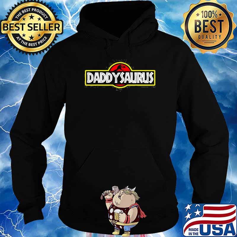 Daddysaurus TRex Fathers Day Shirt Hoodie