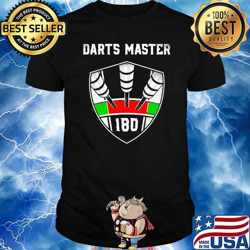 Emblem 180 Or Ton 80 Darts Master Shirt