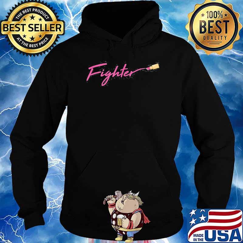 Fighter Breast Cancer Awareness Warrior Survivor Shirt Hoodie