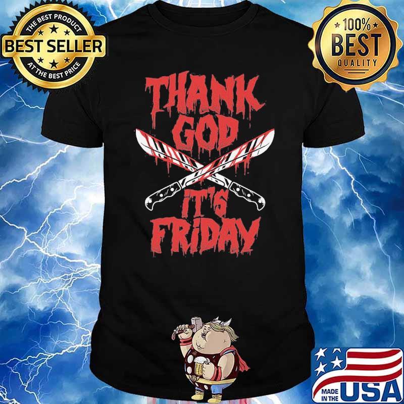 Halloween Thank God It's Friday shirt