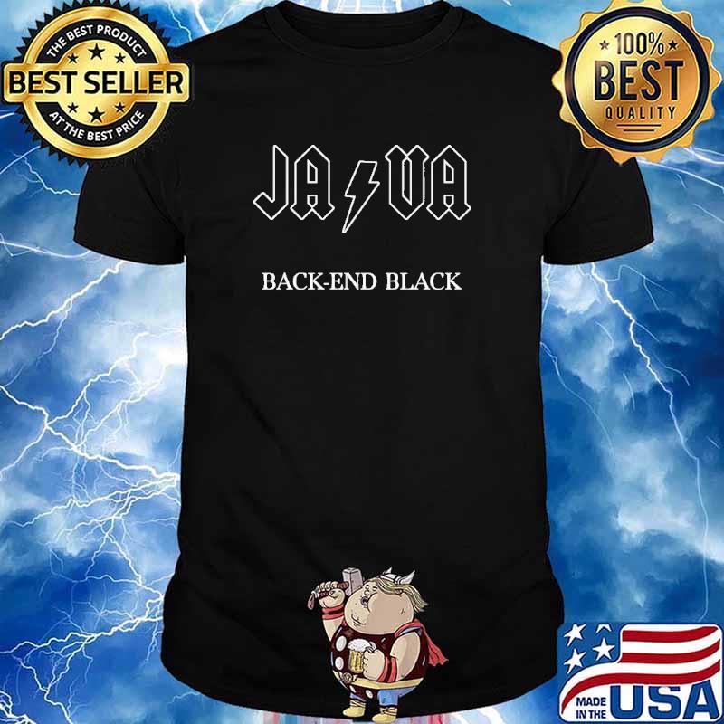 Java Back-End Black Shirt