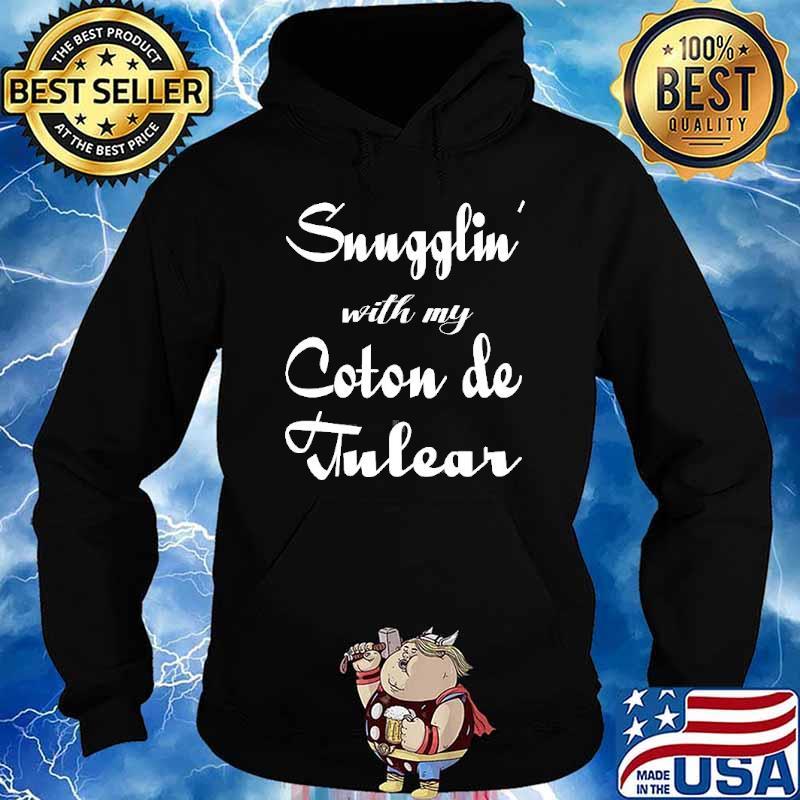 Snugglin with my Coton De Tulear s Hoodie