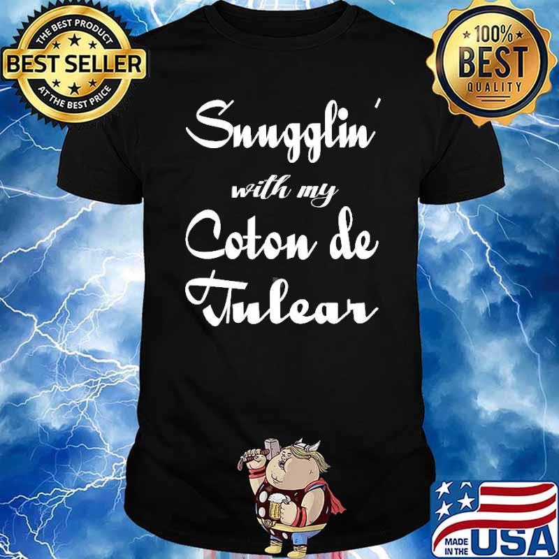 Snugglin with my Coton De Tulear shirt