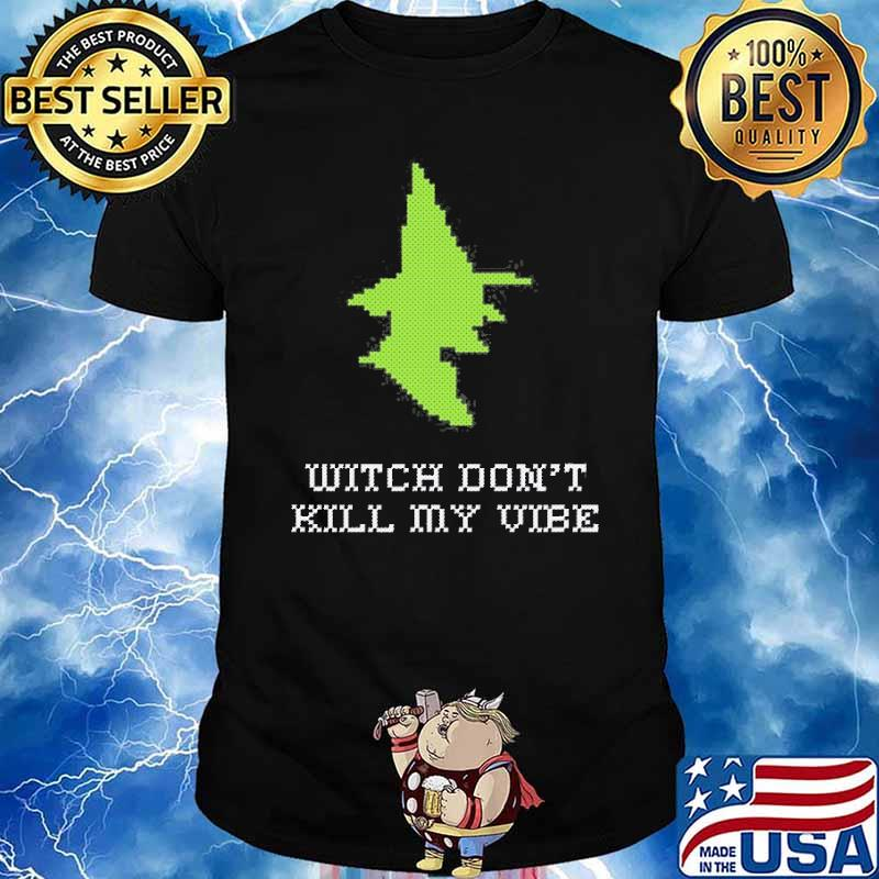 Stitch Witch Don't Kill My Vibe Shirt