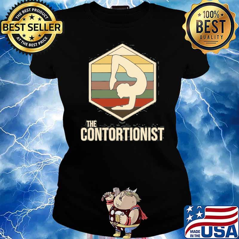 The Contortionist Exercise Vintage Shirt Ladies tee