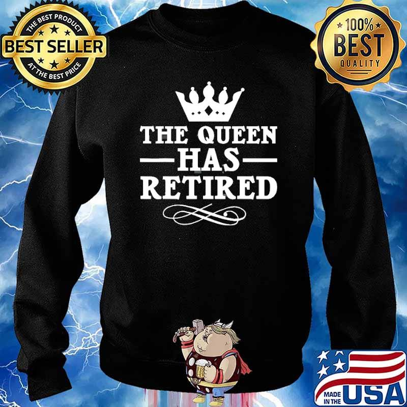 The queen has retired crown s Sweater