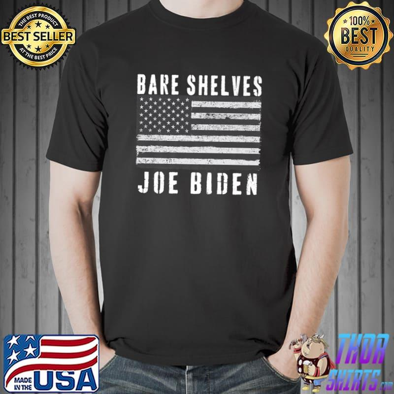 Bare Shelves Biden Funny Political USA Meme Premium T-Shirt