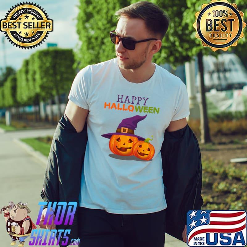Witch Jack O Lantern T-Shirt